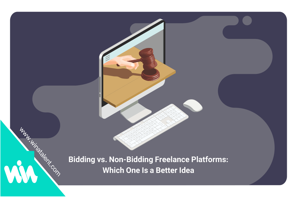 Bidding vs. Non-Bidding Freelance Platforms: Which One Is a Better Idea